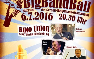 BigBandBall im Kino Union…