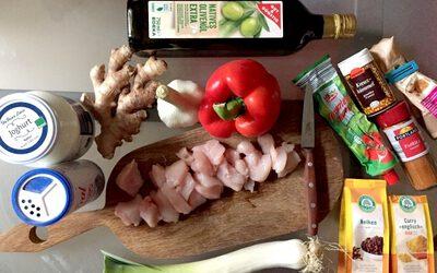 Chicken Tikka Massala – Der Grundkurs Englisch kocht